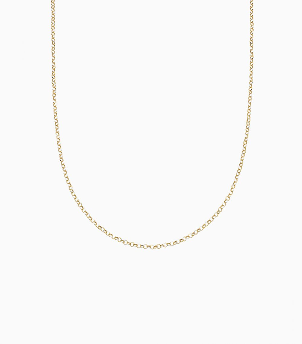 18 inch Rolo Chain 14k