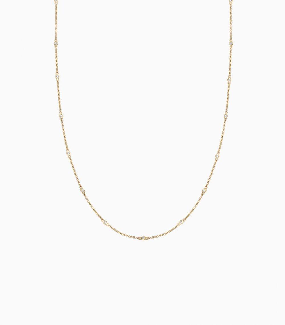 Fine Diamond Necklace -  all colours