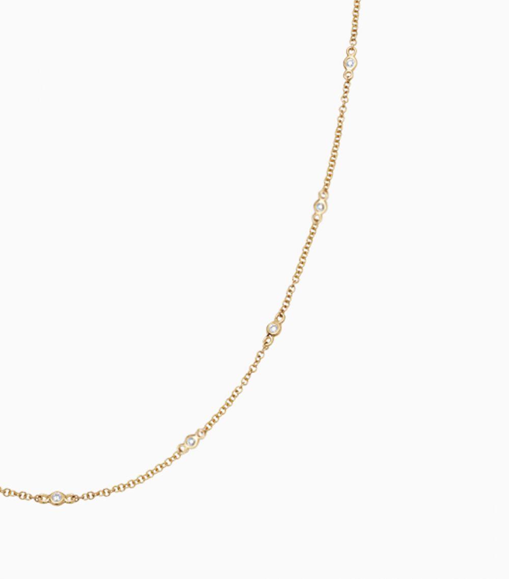 18 inch Fine Diamond Necklace