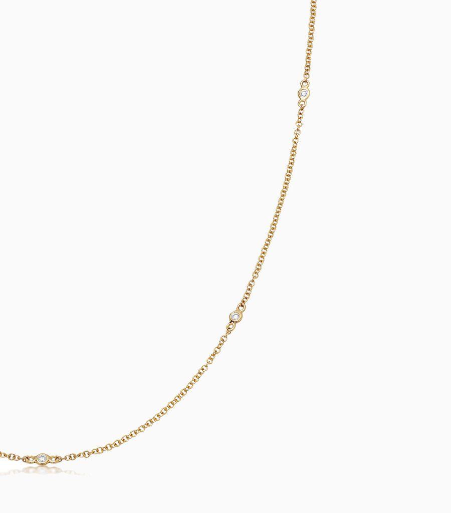 32 inch Fine Diamond Necklace