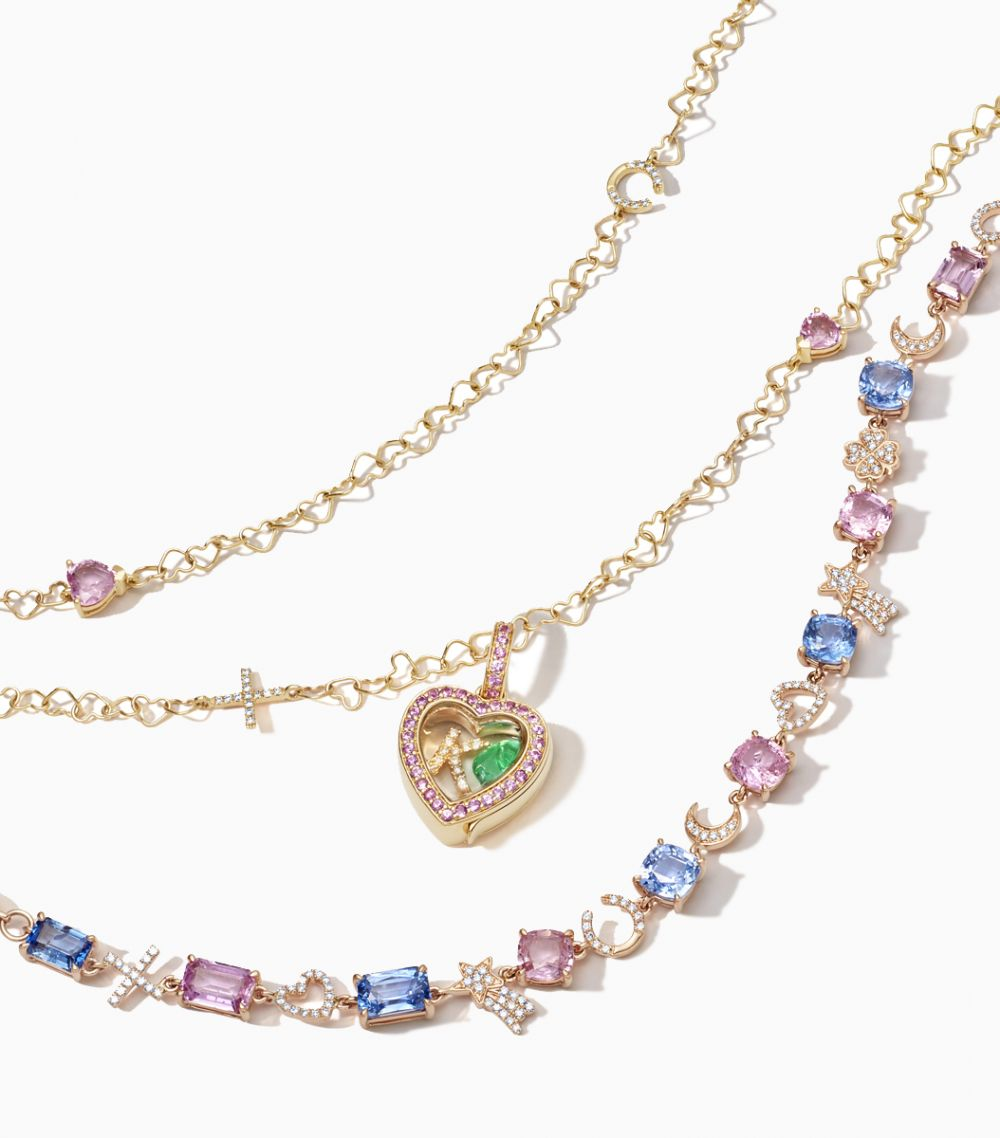 The Sapphire Heart Locket