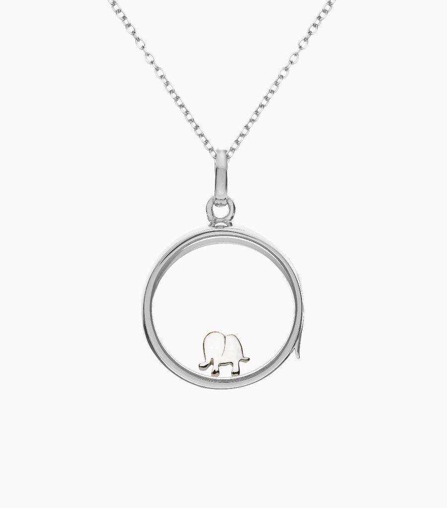 Elephant White Gold - Happiness