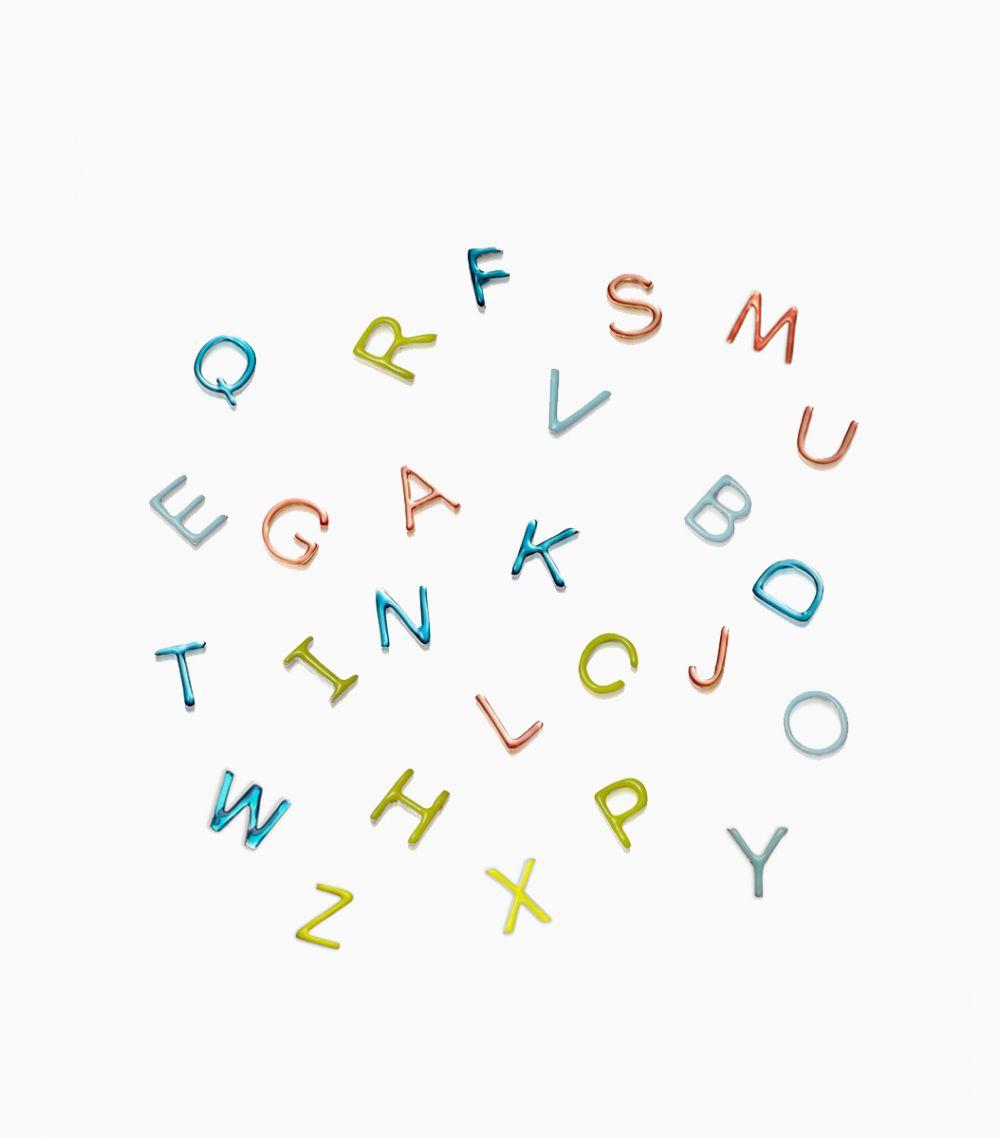 Enamel Letter R