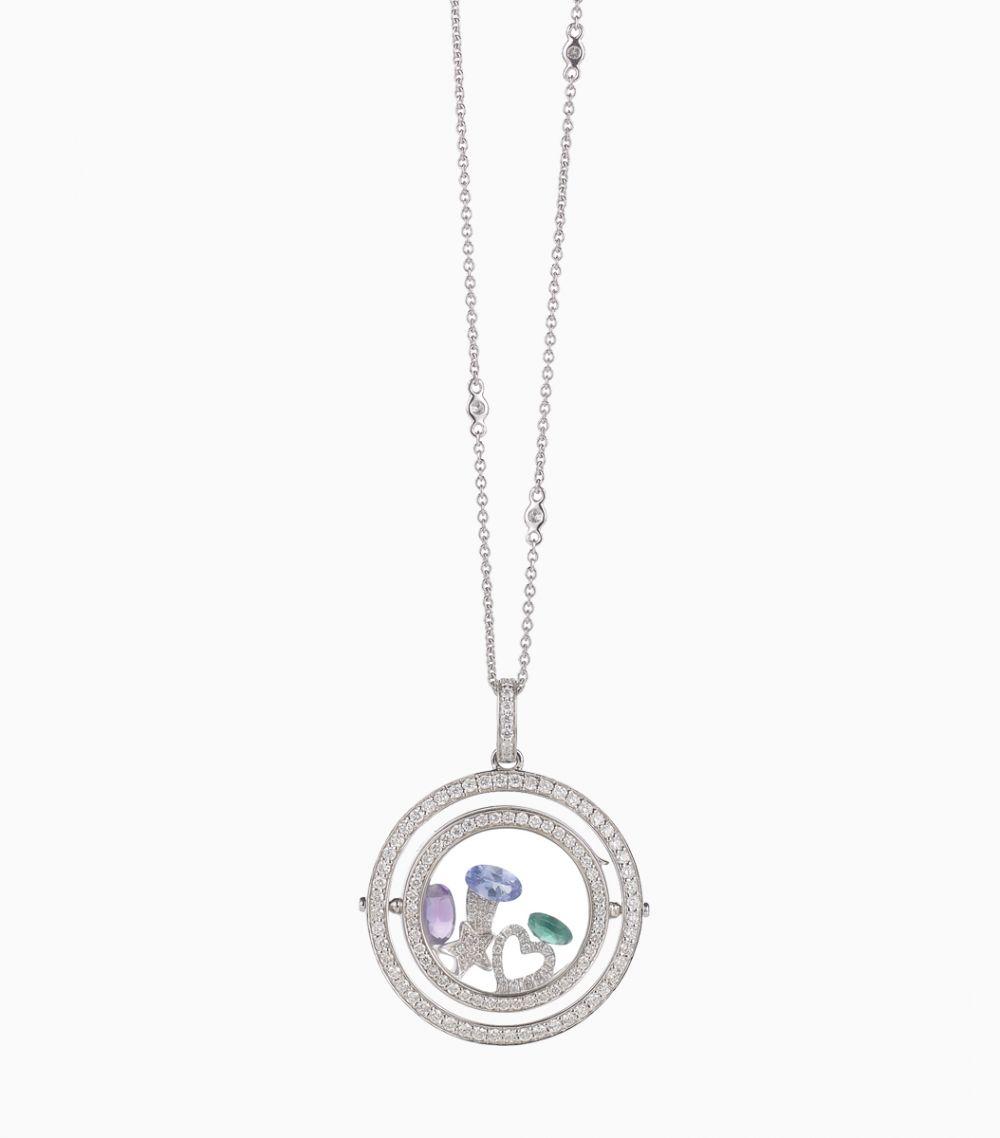 32 inch Fine Diamond Necklace White gold