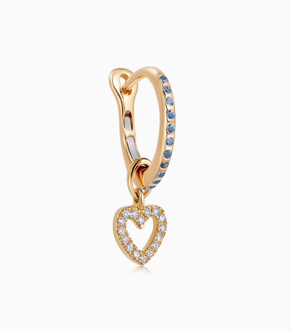 Talisman Diamond Heart - With Love