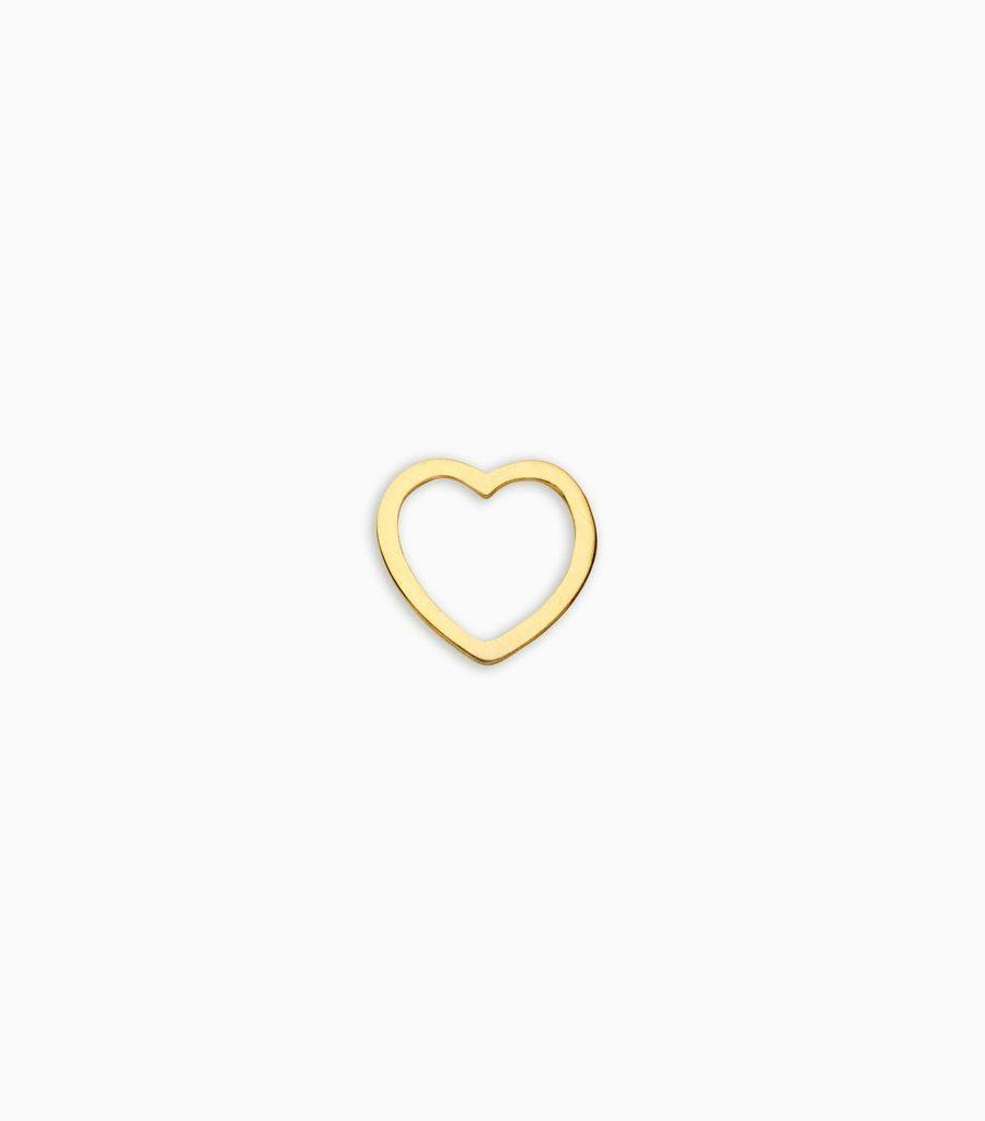 Love, yellow gold, 18kt, heart