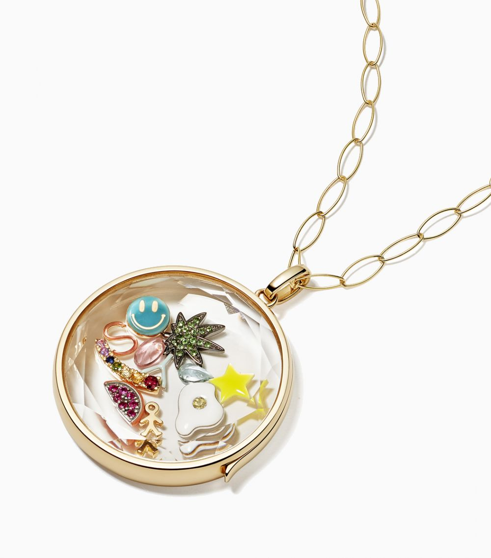 The Jupiter Locket Pendant in Yellow Gold 9kt