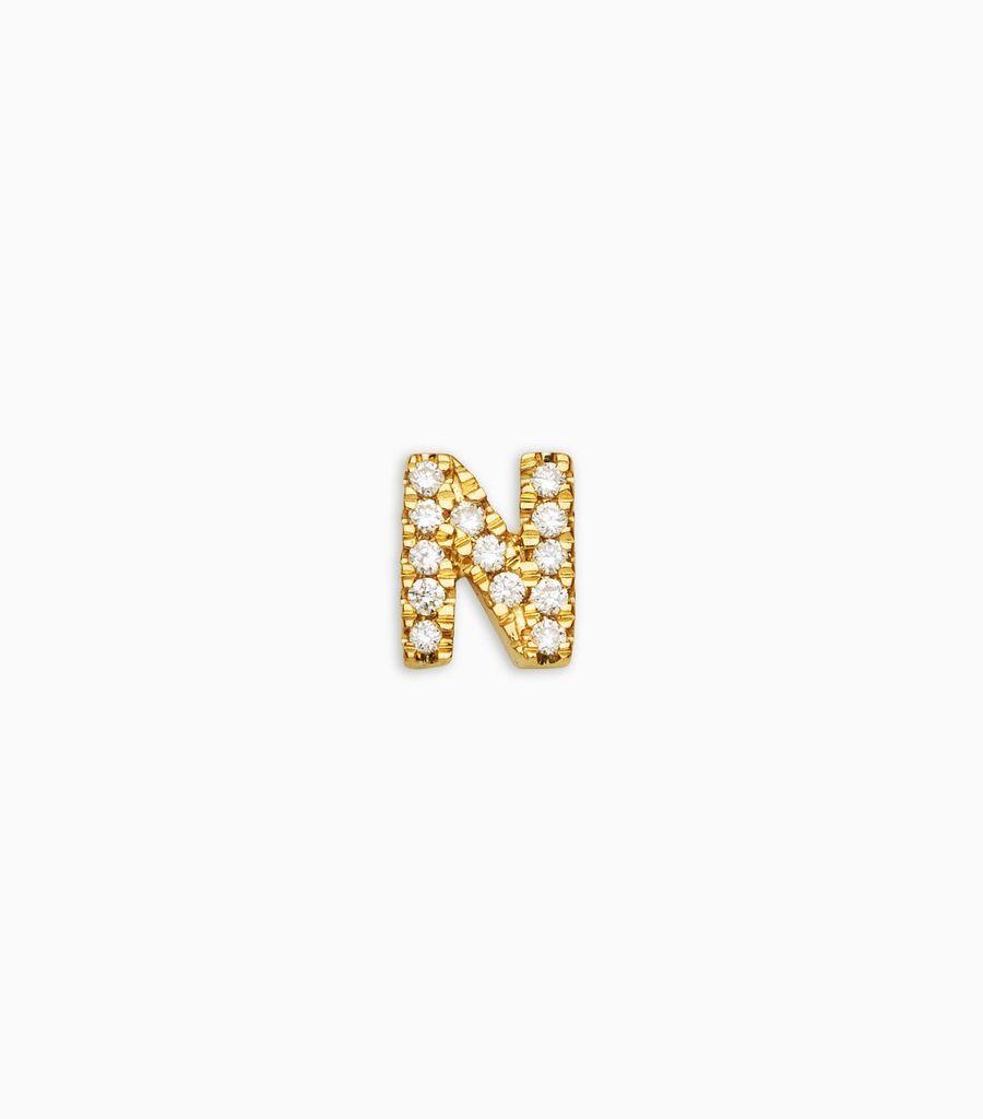 N Diamond Letter