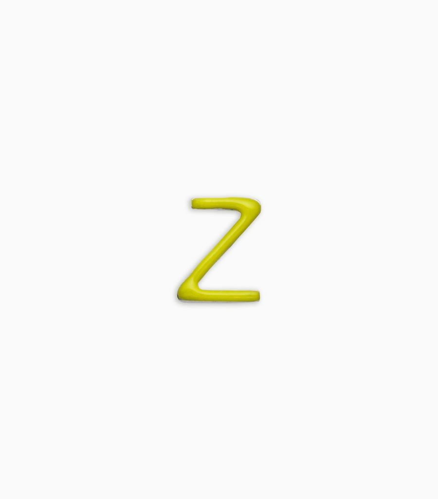 Letters, yellow gold, 18kt, z