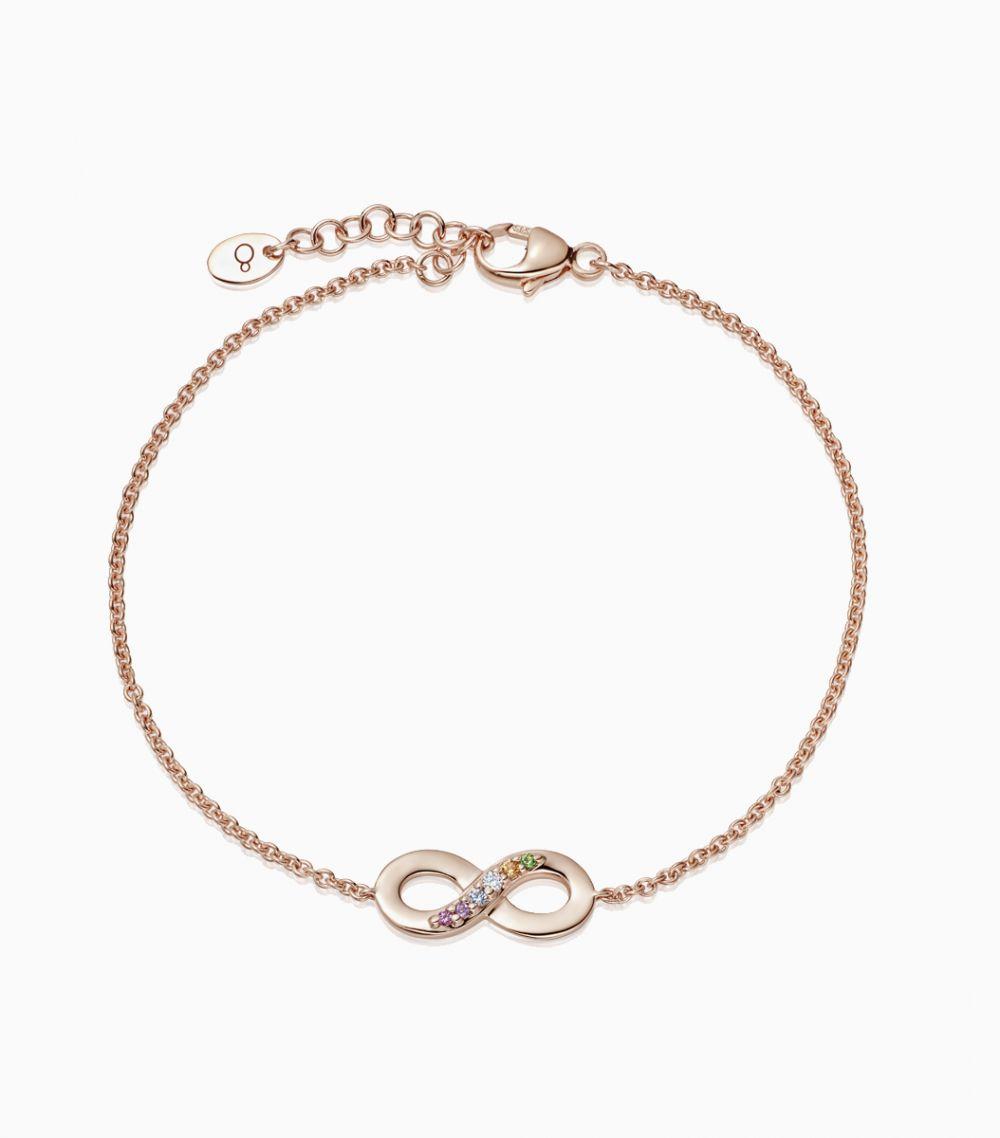 The Rainbow Infinity Bracelet