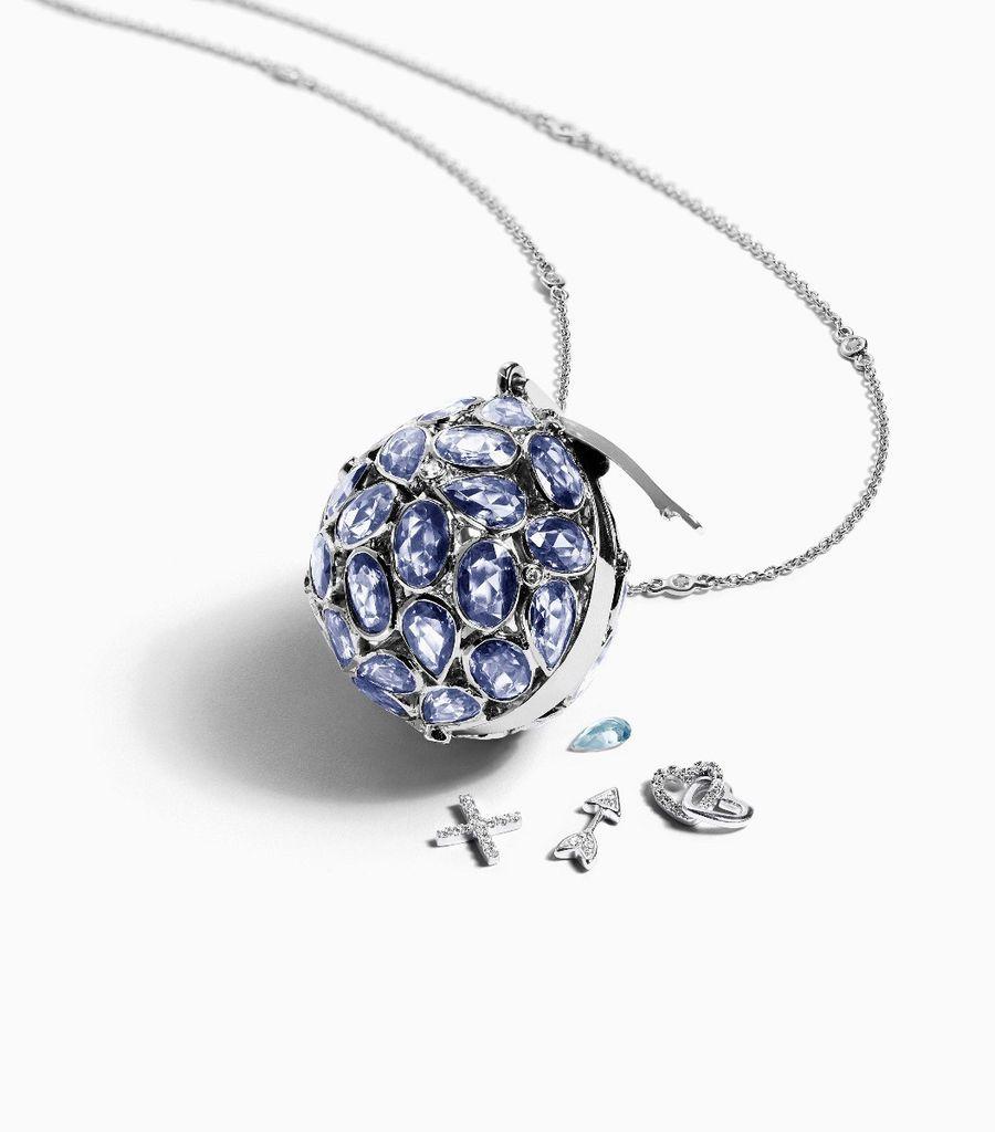 The Rose Cut Sapphire Orb