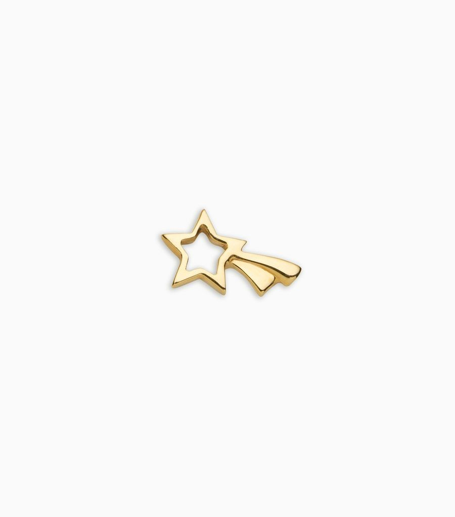 Dreams/nature, yellow gold, 18kt, shooting star