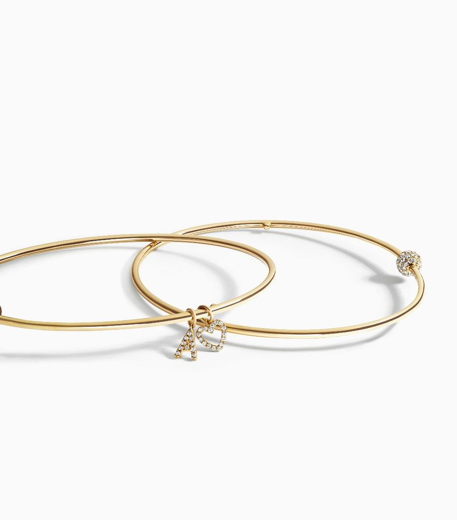 The Talisman Diamond Bangle