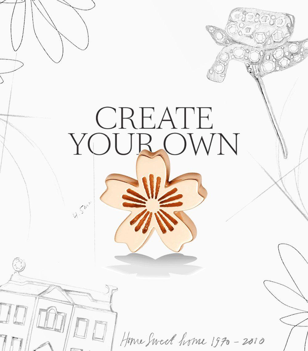 Bespoke -- create your own charm.